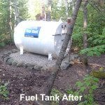 Fuel tank after